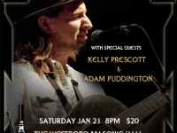 Anders Drerup with Kelly Prescott and Adam Puddington Jan 21, 2012